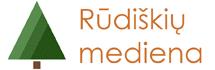 """UAB """"Rūdiškių mediena"""" logo"""